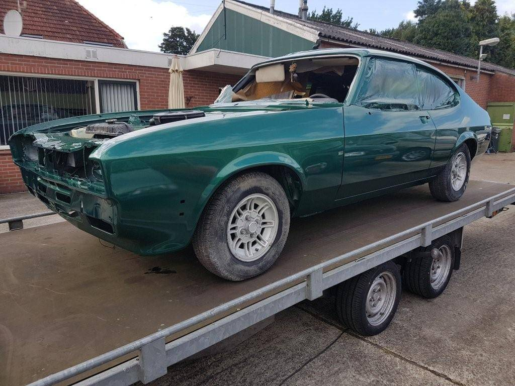 ford capri apollo green 2.3s automatic (4)