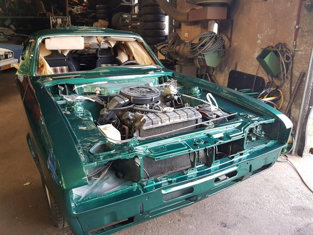 ford capri apollo green 2.3s automatic (5)